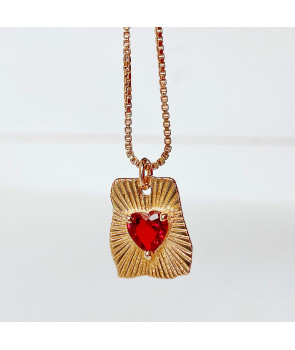Collier As de coeur