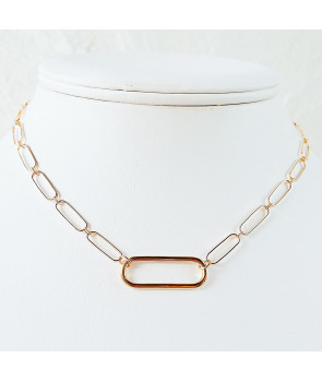 Collier maille maxi